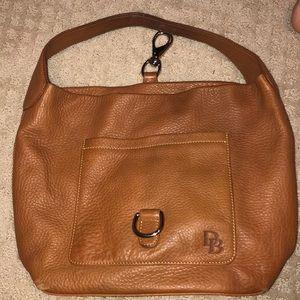 leather D&B purse
